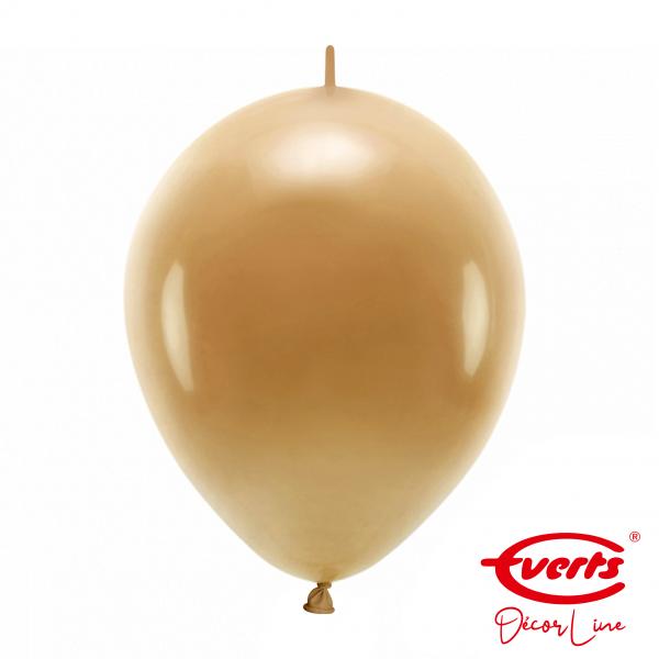50 Girlandenballons - DECOR - Ø 30cm - Mocha Brown