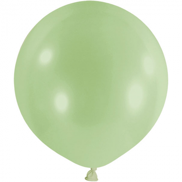 1 Riesenballon - Ø 1m - Pastell - Pistazie