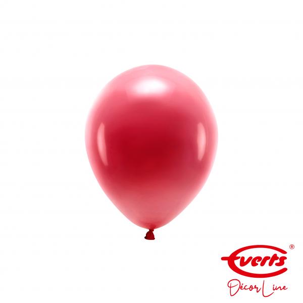 100 Miniballons - DECOR - Ø 13cm - Pearl & Metallic - Burgundy