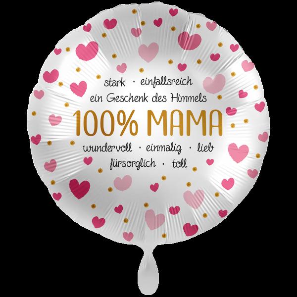1 Ballon XXL - 100% Mama