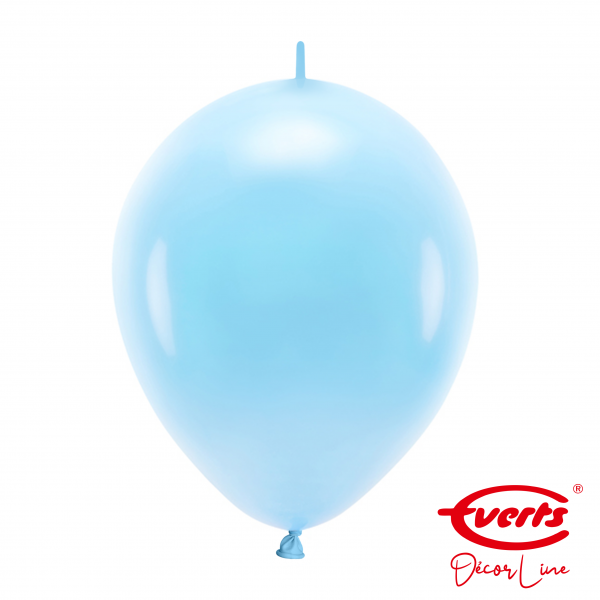 50 Girlandenballons - DECOR - Ø 30cm - Pastel Blue