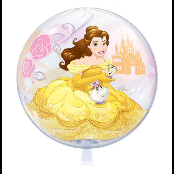 1 Bubble Ballon - Princess Belle