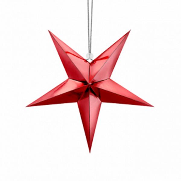 1 Paperstar - 30cm - Rot