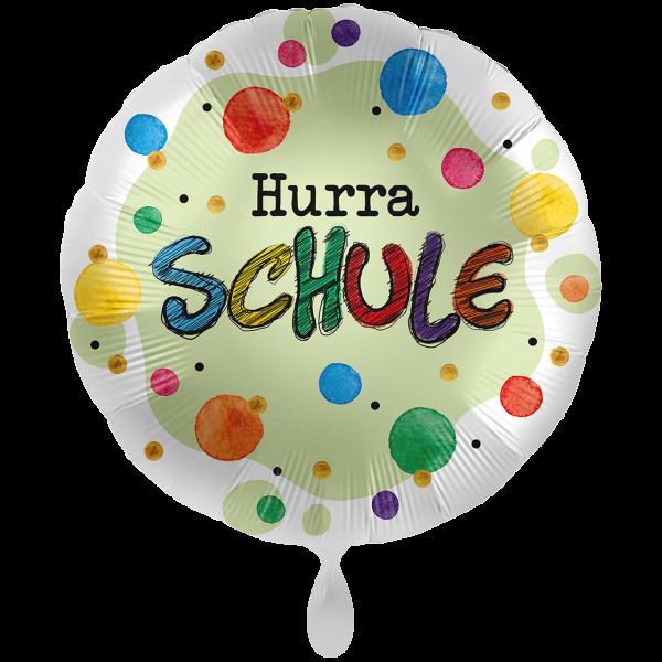 1 Ballon XXL - Hurra Schule