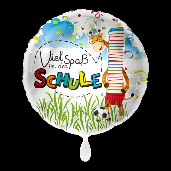 1 Ballon - Viel Spaß in der Schule