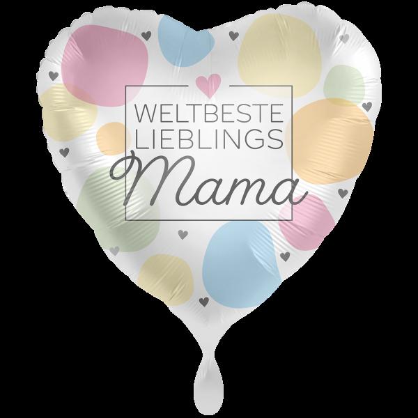 1 Ballon XXL - Weltbeste Lieblingsmama