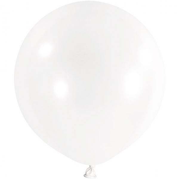 1 Riesenballon - Ø 1m - Transparent