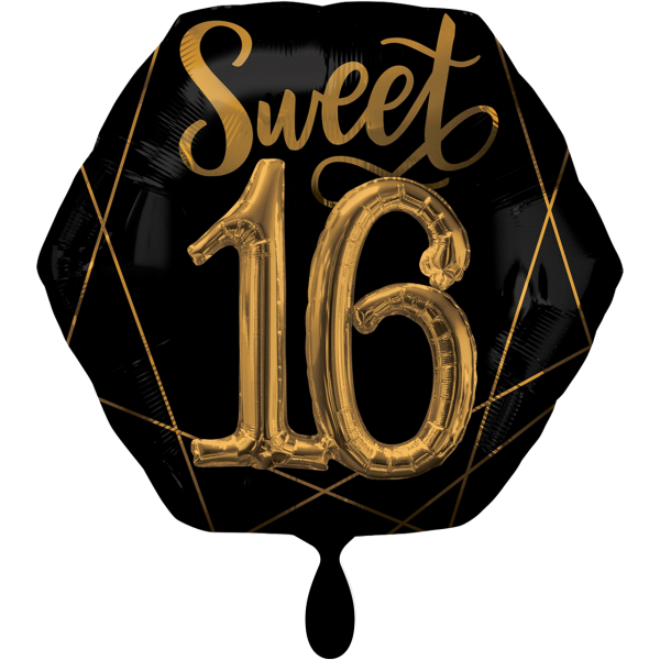 1 Ballon XXL - Elegant Sixteen