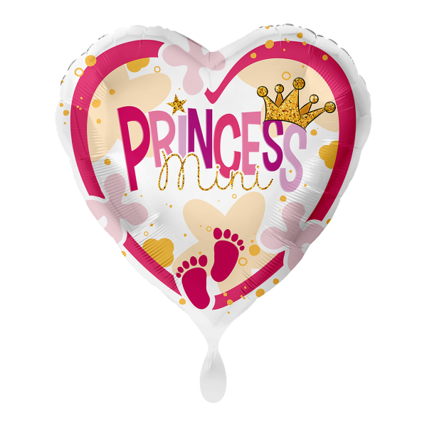 1 Ballon - Mini Princess