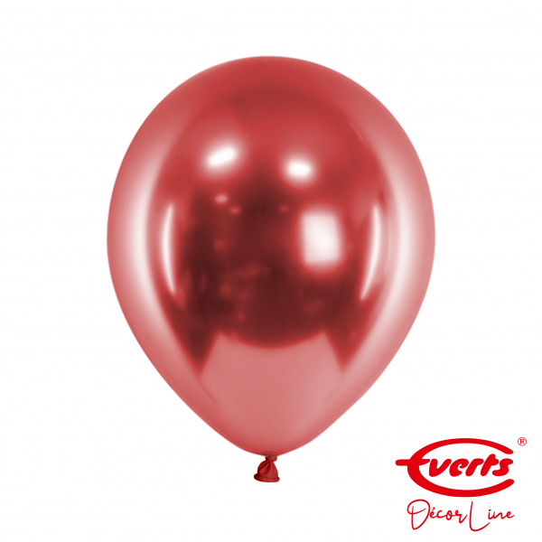 50 Luftballons - DECOR - Ø 28cm - Satin Luxe - Pomegranate