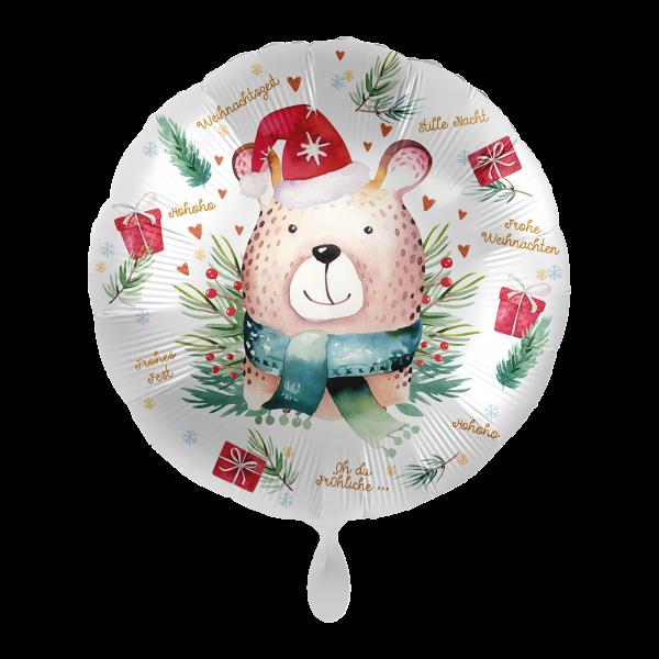1 Ballon - Cute Christmas Bear