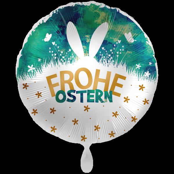 1 Ballon XXL - Frohe Ostern