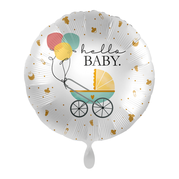 1 Ballon - Baby Buggy