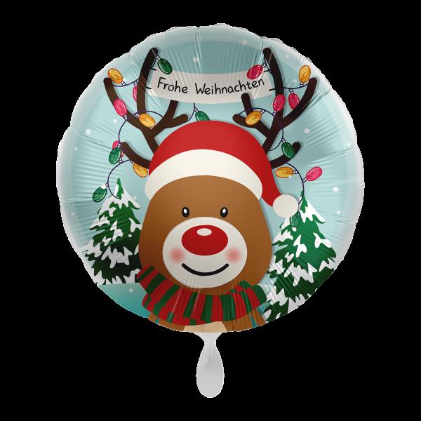 1 Ballon - Christmas Reindeer
