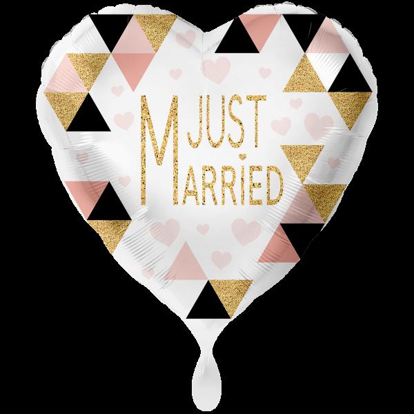 1 Ballon XXL - Just Married Modern