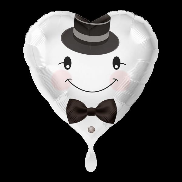1 Ballon - Bräutigam