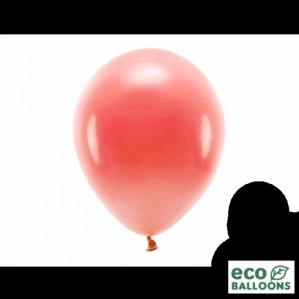 10 ECO-Luftballons - Ø 26cm - Coral