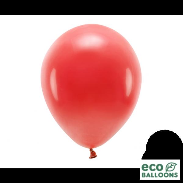 10 ECO-Luftballons - Ø 30cm - Red