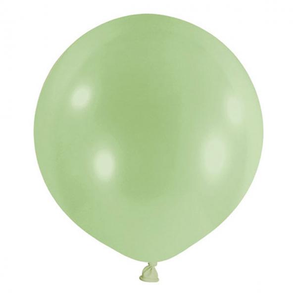 1 Riesenballon - Ø 60cm - Pastell - Pistazie