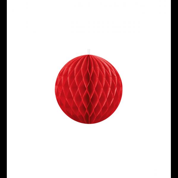1 Wabenball - Ø 10cm - Rot