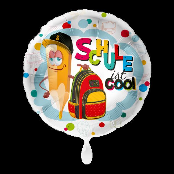 1 Ballon - Schule ist cool