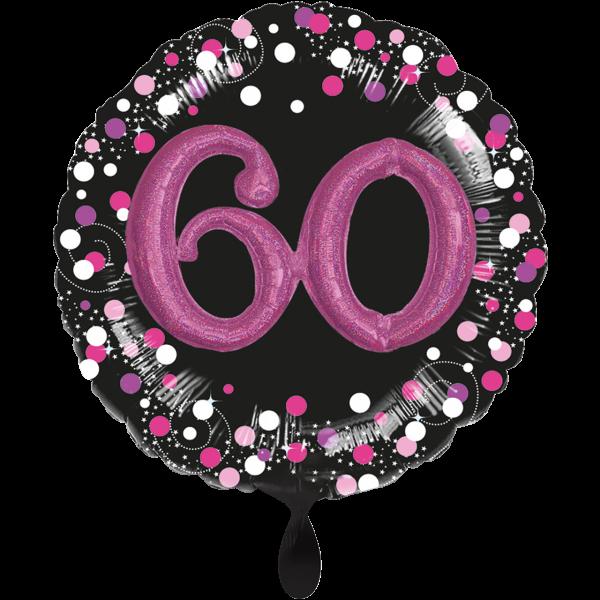 1 Ballon XXL - Sparkling Pink 60