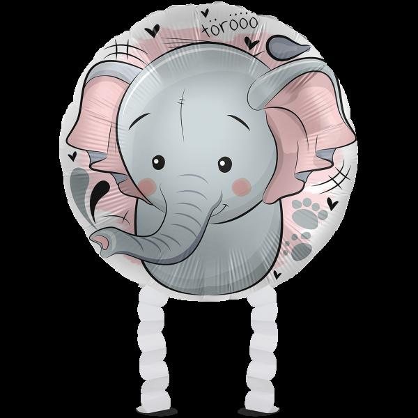 1 Ballonwalker - Loving Elephant