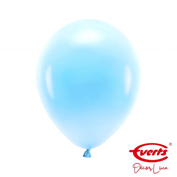 50 Luftballons - DECOR - Ø 28cm - Pearl & Metallic - Pastel Blue