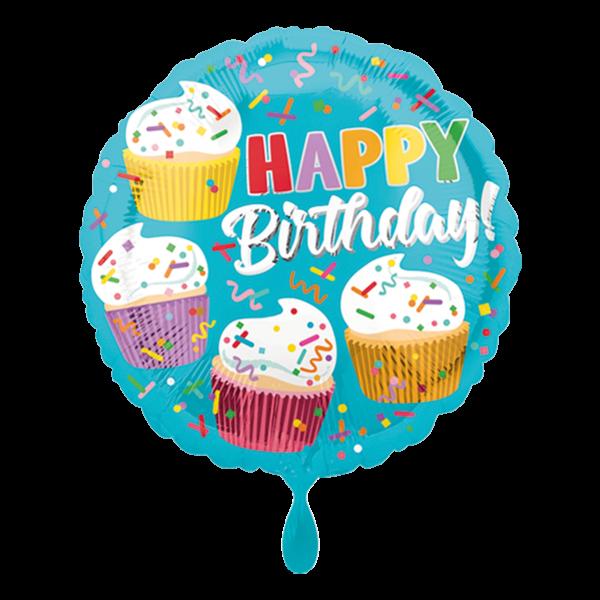 1 Ballon - Cupcake Fun