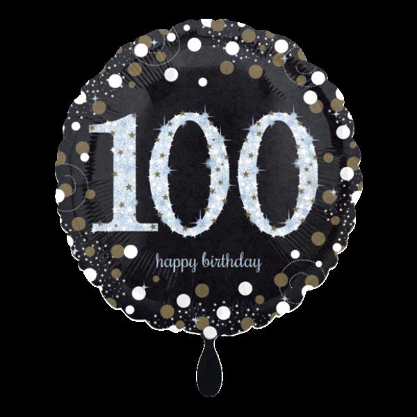 1 Ballon - Sparkling Birthday 100