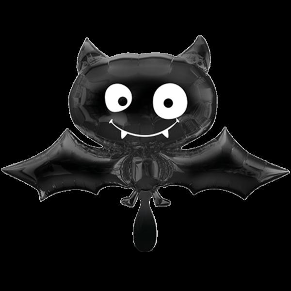 1 Ballon XXL - Black Bat