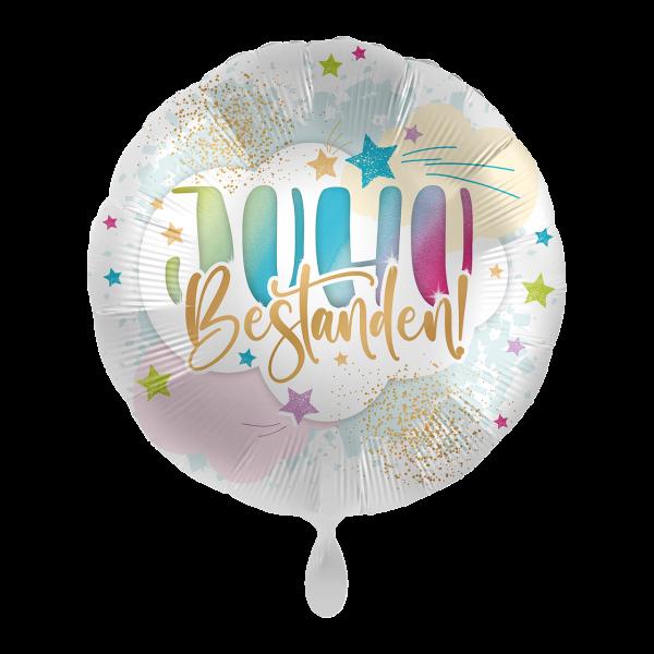 1 Ballon - JUHU Bestanden!
