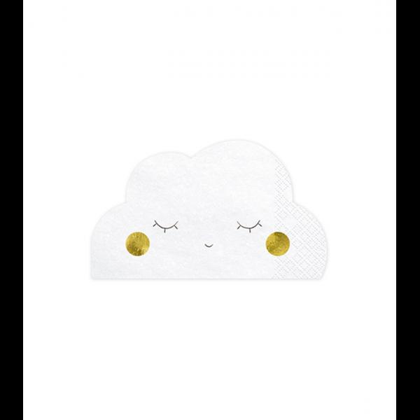 20 Servietten Trend - 16cm - Cloud