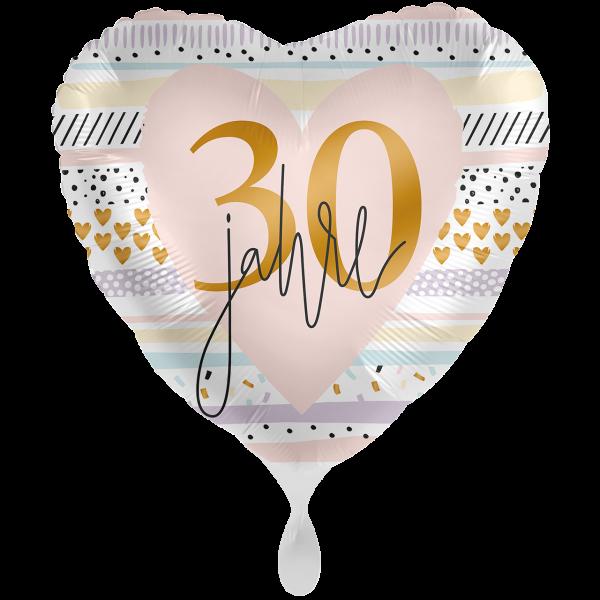 1 Ballon XXL - Creamy Blush 30