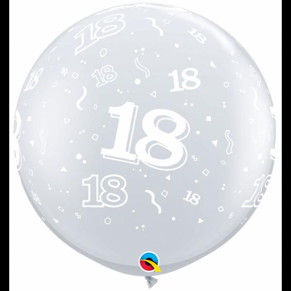 2 Riesenballons - Ø 90cm - 18-A-Round
