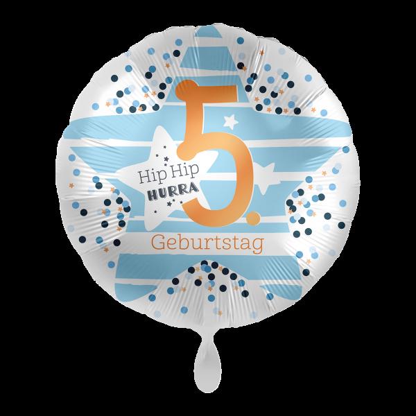 1 Ballon - 5. Geburtstag Stars