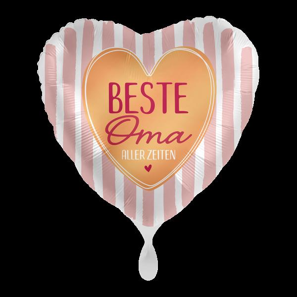 1 Ballon - Beste Oma aller Zeiten