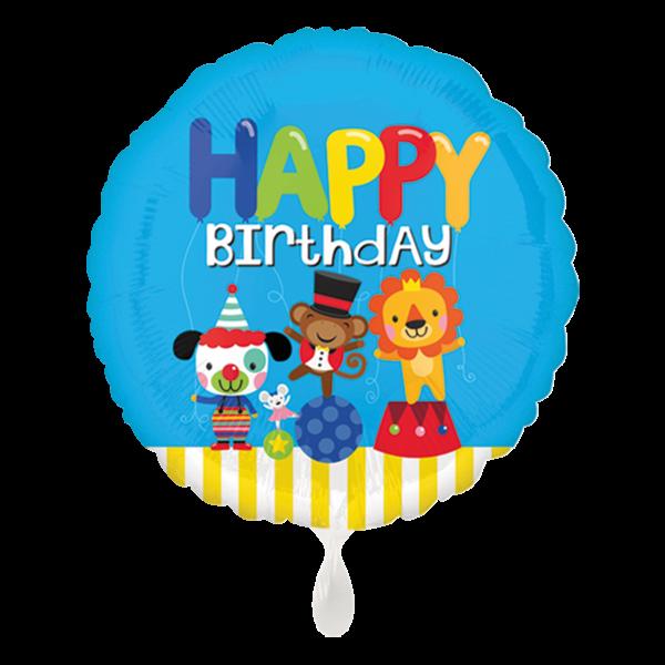 1 Ballon - HBD Circus Fun