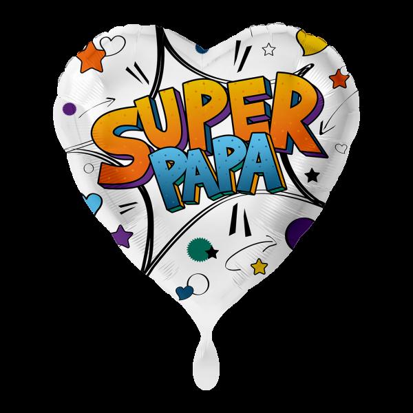 1 Ballon - Super Papa