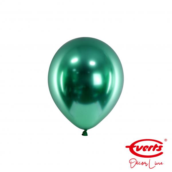 100 Miniballons - DECOR - Ø 13cm - Satin Luxe - Emerald