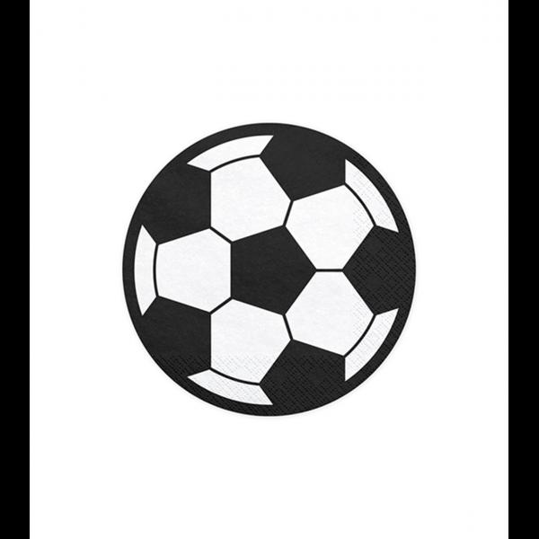 20 Servietten Trend - 13cm - Football