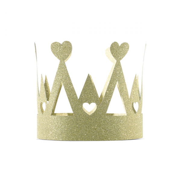 1 Partykrone - Princess - Gold