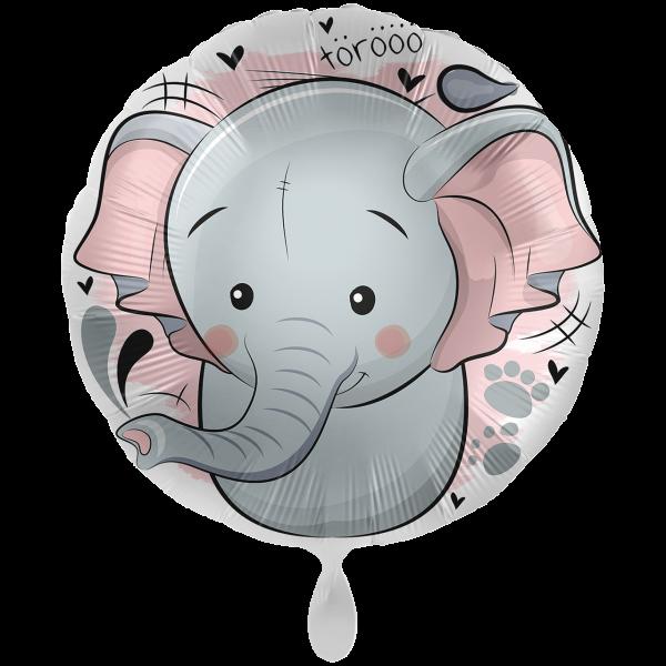 1 Ballon XXL - Loving Elephant