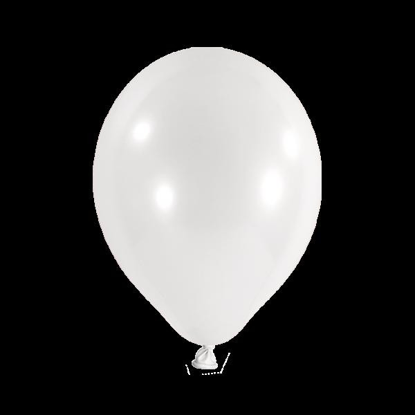 10 Luftballons - Ø 30cm - Weiß
