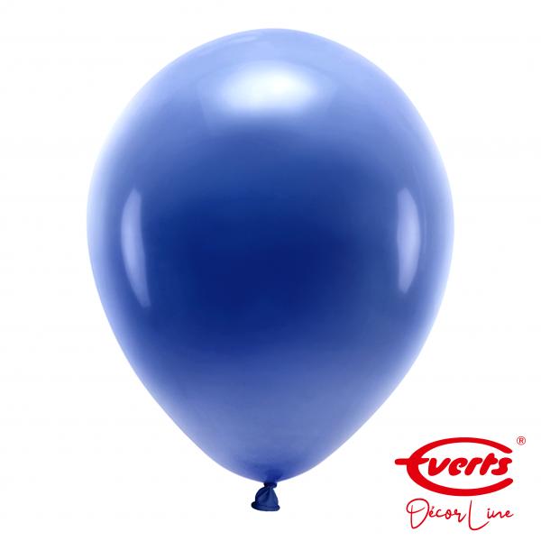50 Luftballons - DECOR - Ø 35cm - Pearl & Metallic - Navy Flag Blue