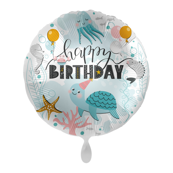 1 Ballon - Shinery Waterworld Birthday