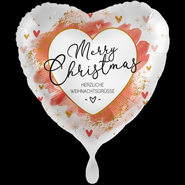 1 Ballon XXL - Smooth Christmas Red