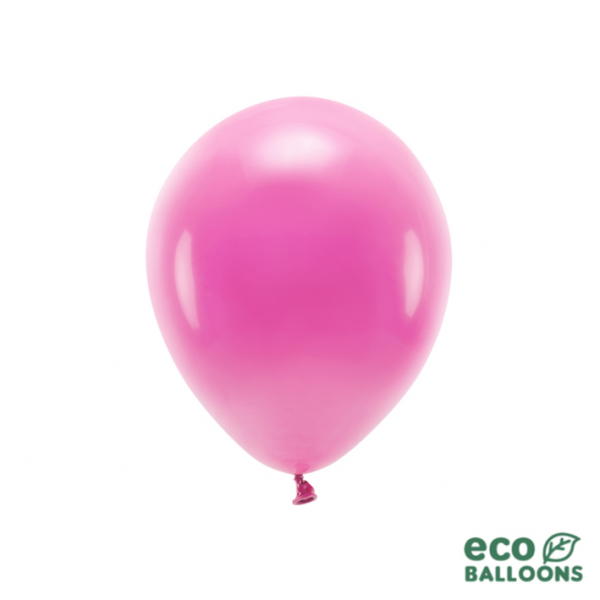 10 ECO-Luftballons - Ø 26cm - Fuchsia