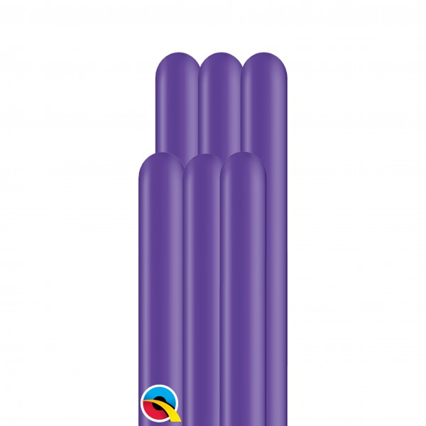 100 Modellierballons 160Q - Purple Violet