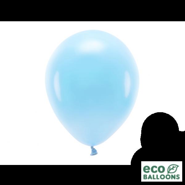 100 ECO-Luftballons - Ø 26cm - Sky Blue